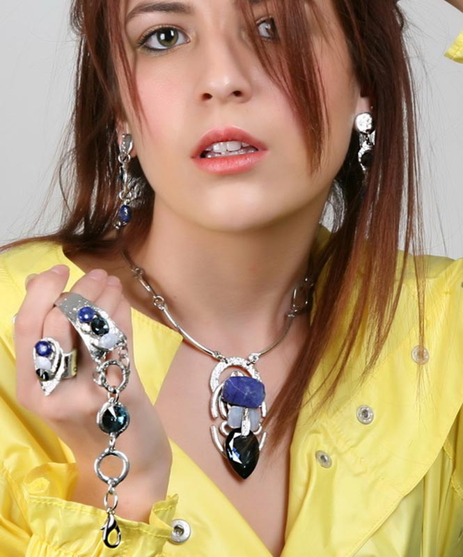 Classic Elegance 131 Earrings J Jansen Designs
