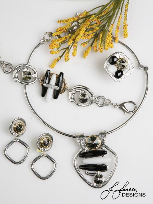 classic elegance 351 necklace j jansen designs