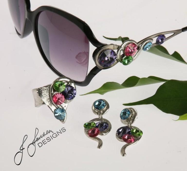 Earrings Bracelets & Rings 1 - Set