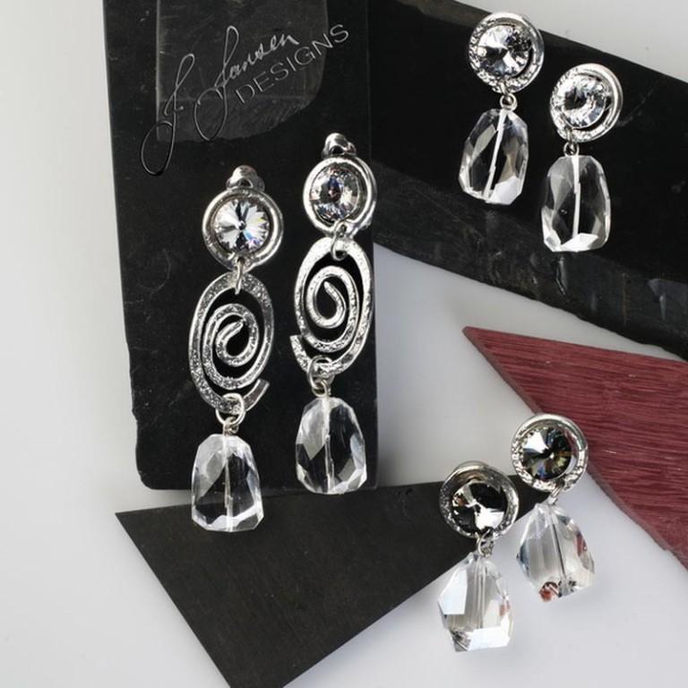 Earrings Bracelets & Rings 100 - Set