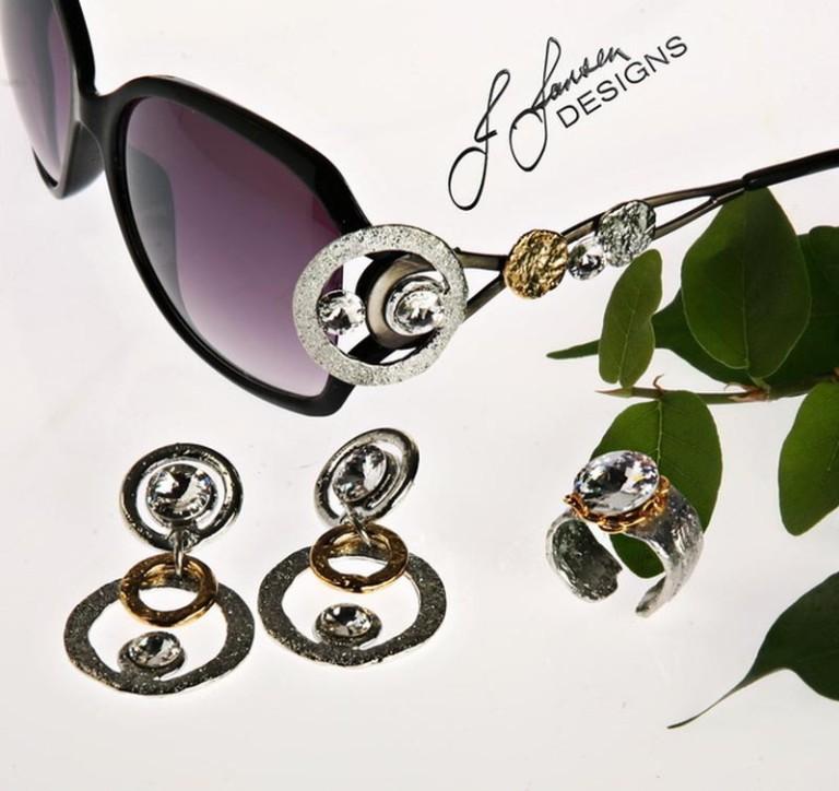 Earrings Bracelets & Rings 119 - Set
