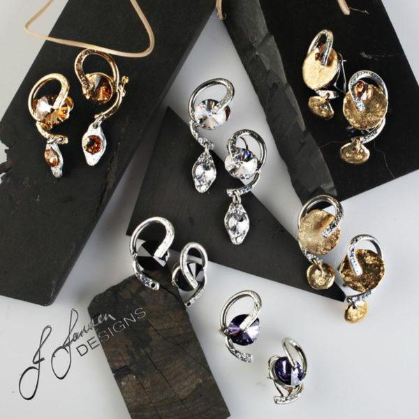 Earrings Bracelets & Rings 123 - Earrings - Left