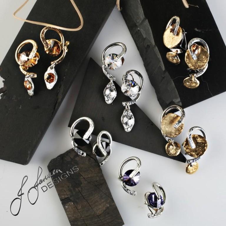 Earrings Bracelets & Rings 123 - Set