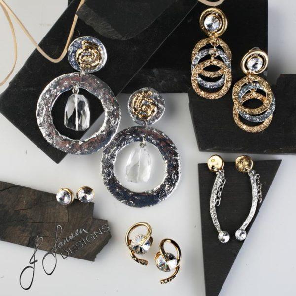 Earrings Bracelets & Rings 127 - Set
