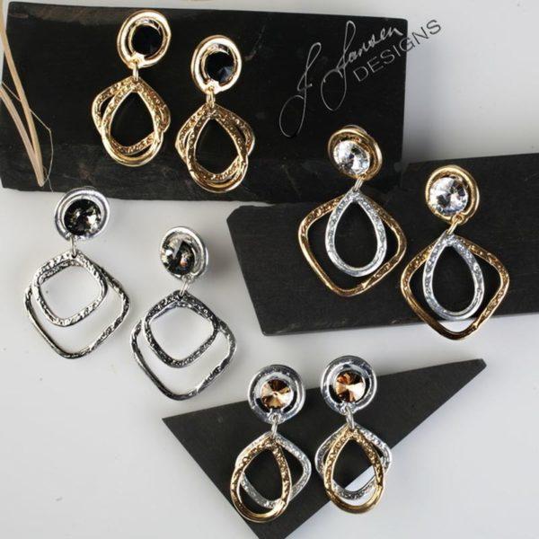 Earrings Bracelets & Rings 128 - Earrings - Middle Left