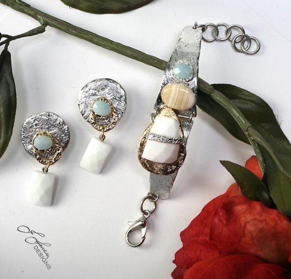 Earrings Bracelets & Rings 13 - Set