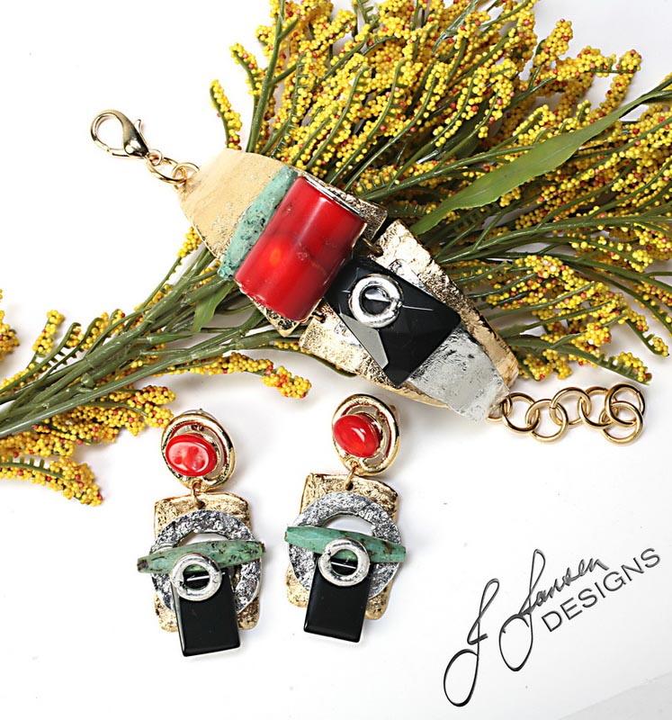 Earrings Bracelets & Rings 132 - Earrings