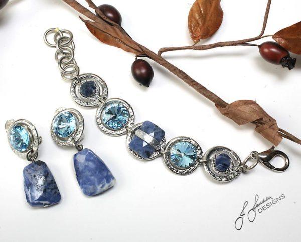 Earrings Bracelets & Rings 157 - Set