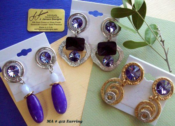 Earrings Bracelets & Rings 19 - Earrings - Left