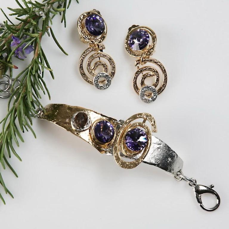 Earrings Bracelets & Rings 196 - Set