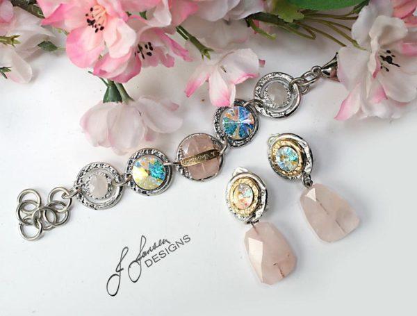 Earrings Bracelets & Rings 213 - Set
