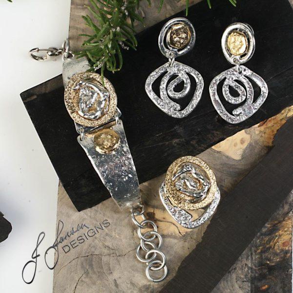 Earrings Bracelets & Rings 259 - Set