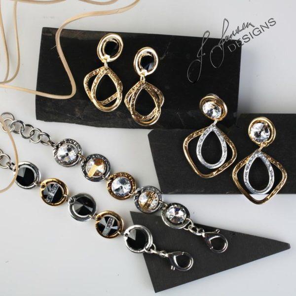 Earrings Bracelets & Rings 294 -Set