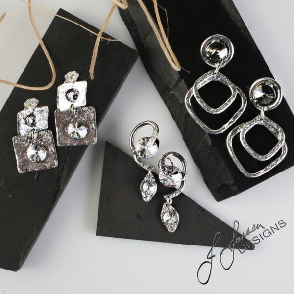 Earrings Bracelets & Rings 295 - Earrings - Left