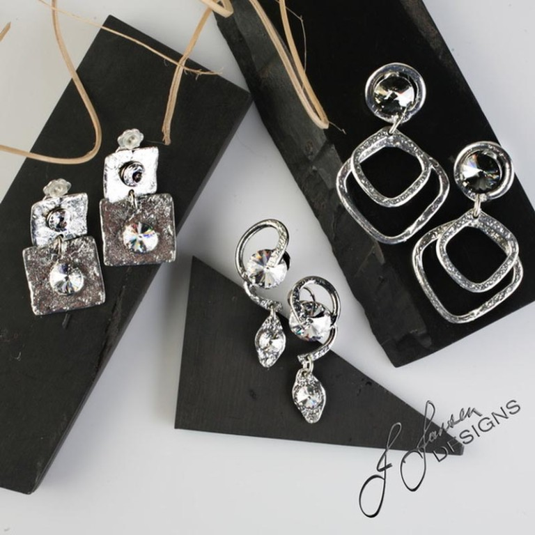 Earrings Bracelets & Rings 295 - Set