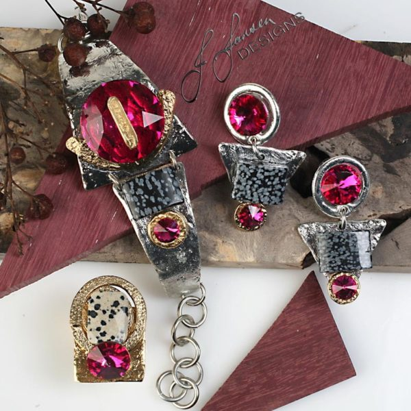 Earrings Bracelets & Rings 50 - Set
