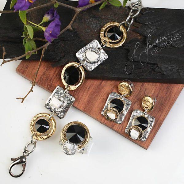 Earrings Bracelets & Rings 57 - Set