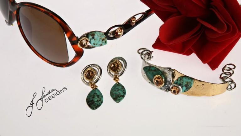 Earrings Bracelets & Rings 60 - Set