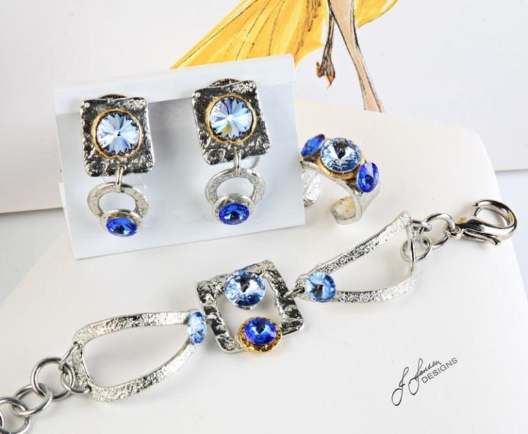 Earrings Bracelets & Rings 64 - Set