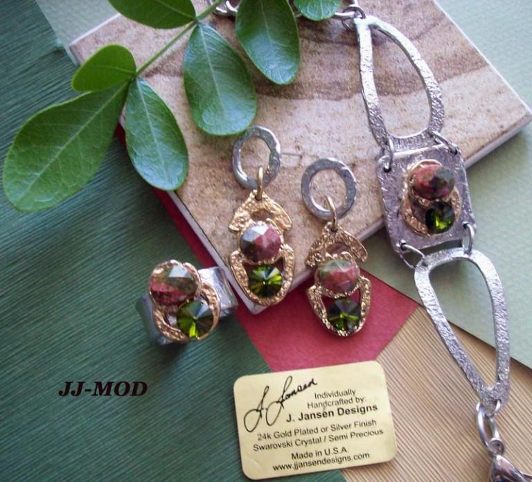 Earrings Bracelets & Rings 7 - Set