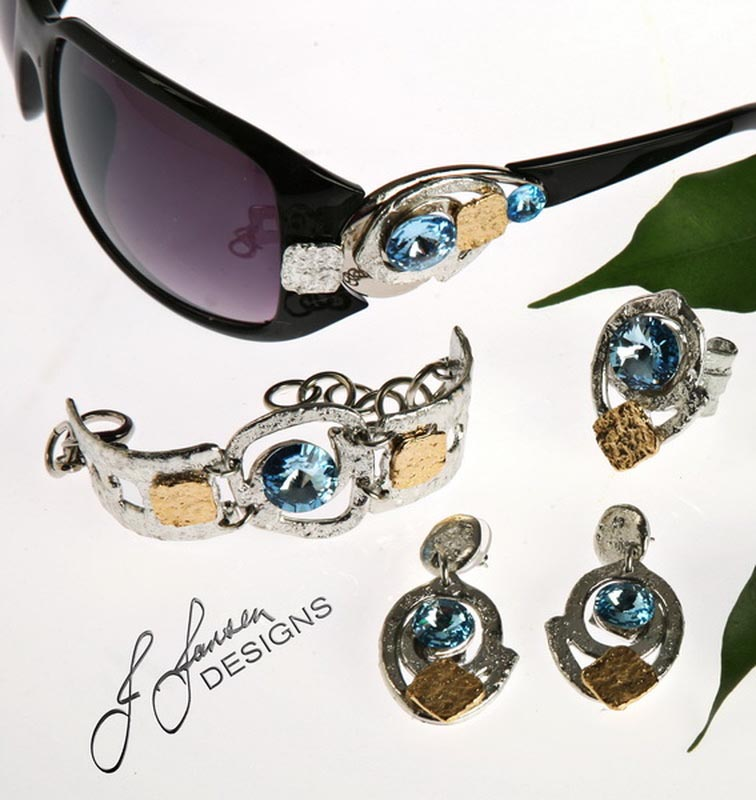 Earrings Bracelets & Rings 76 - Set