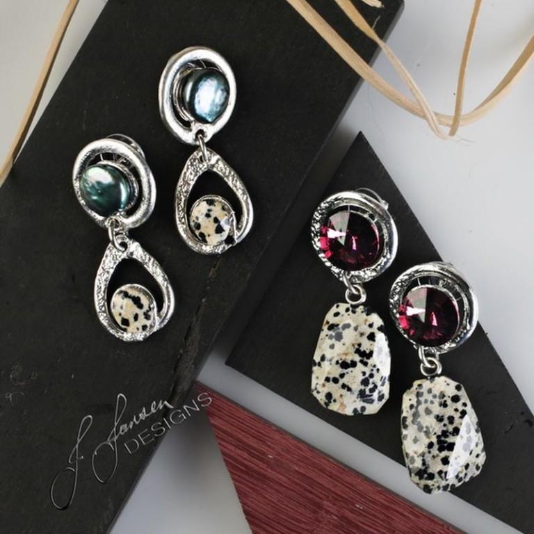 Earrings Bracelets & Rings 80 - Set