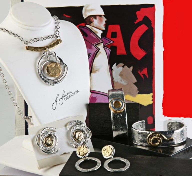 Earrings Bracelets & Rings 84 -Set