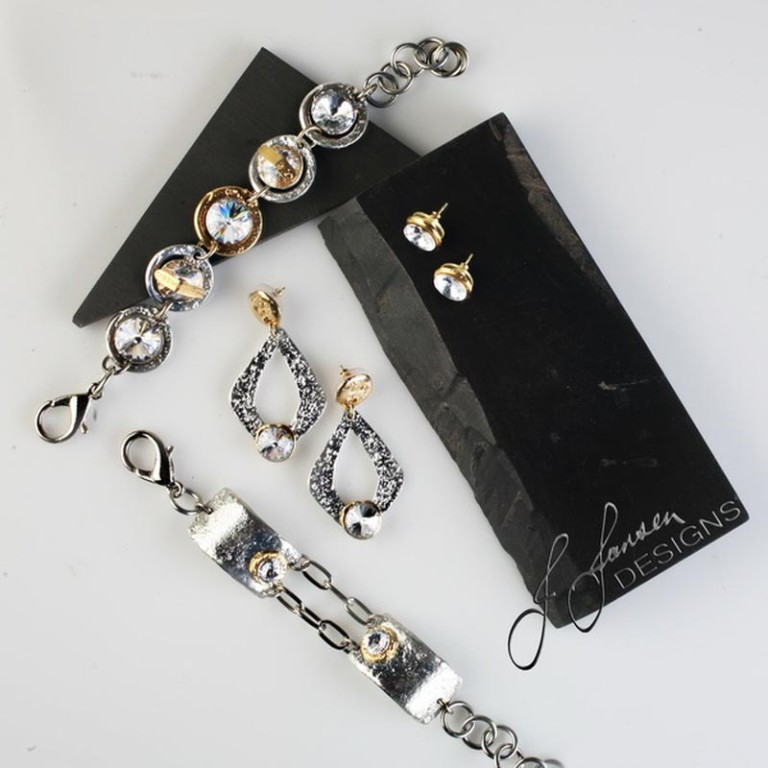 Earrings Bracelets & Rings 93 - Set