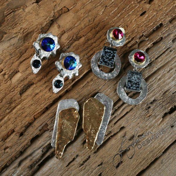 Earrings Bracelets & Rings 99 - Earrings - Left
