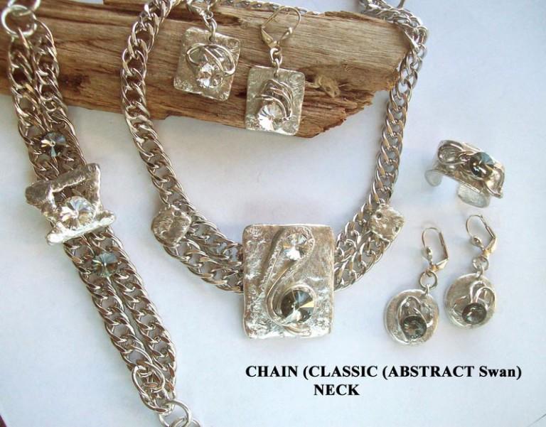 Timeless Chain 1075 - Earrings - Rnd