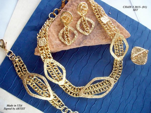 Timeless Chain 1077 - Earrings