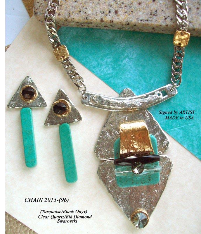 Timeless Chain 1101 - Earrings
