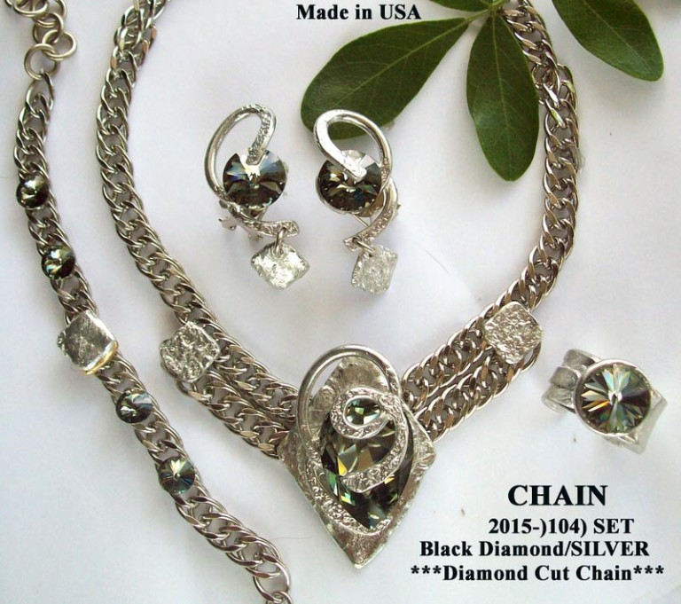 Timeless Chain 1104 - Earrings