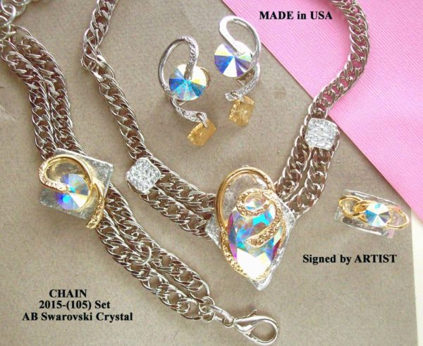 Timeless Chain 1105 - Earrings