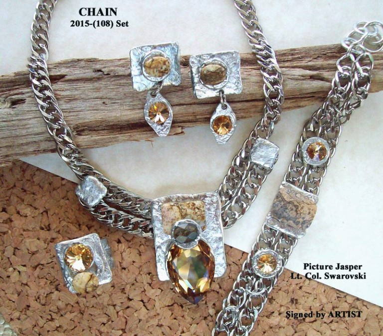 Timeless Chain 1107 - Earrings