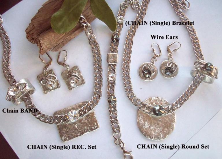 Timeless Chain 1171 - Earrings - Rec