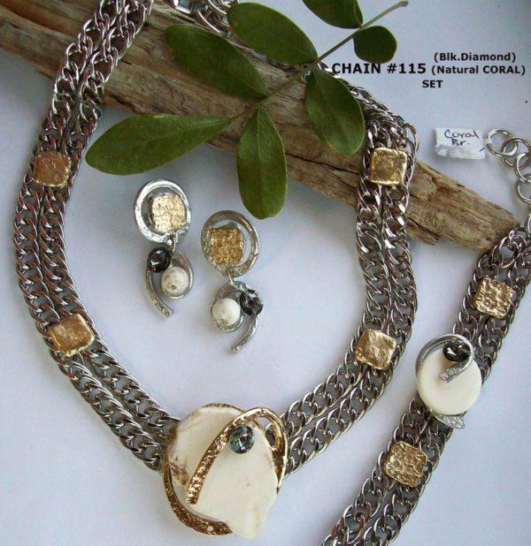 Timeless Chain 1207 - Earrings