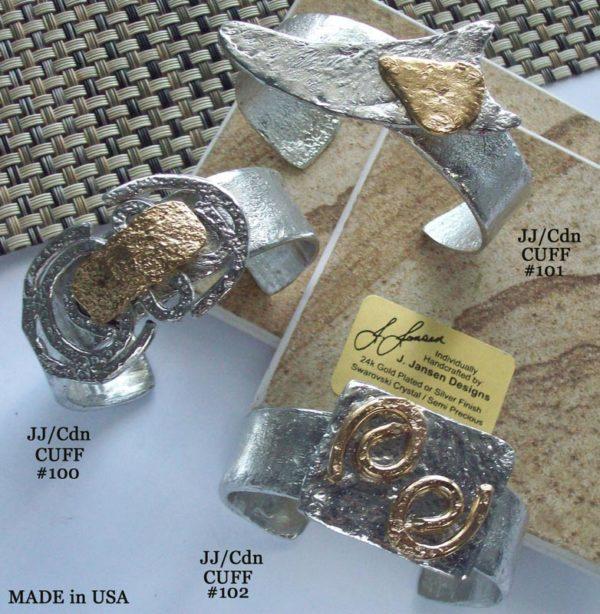Cuff Bracelet 947 - Set