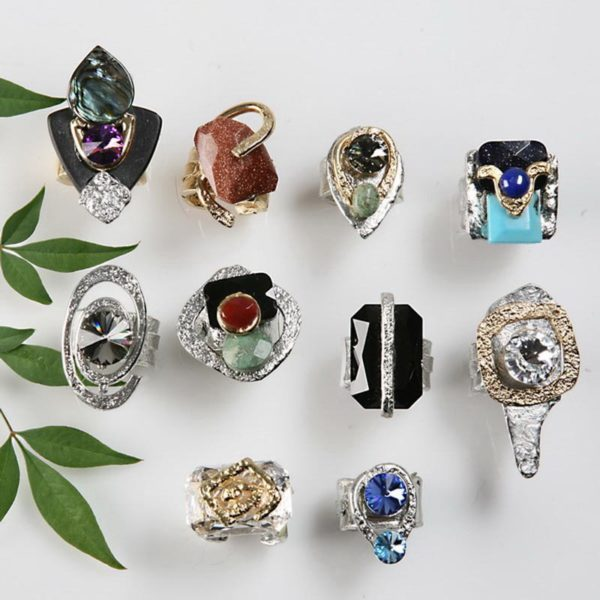 Rings 153 - Top Row - 2nd Left