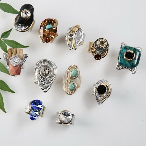 Rings 162 - Top Row - 2nd Left