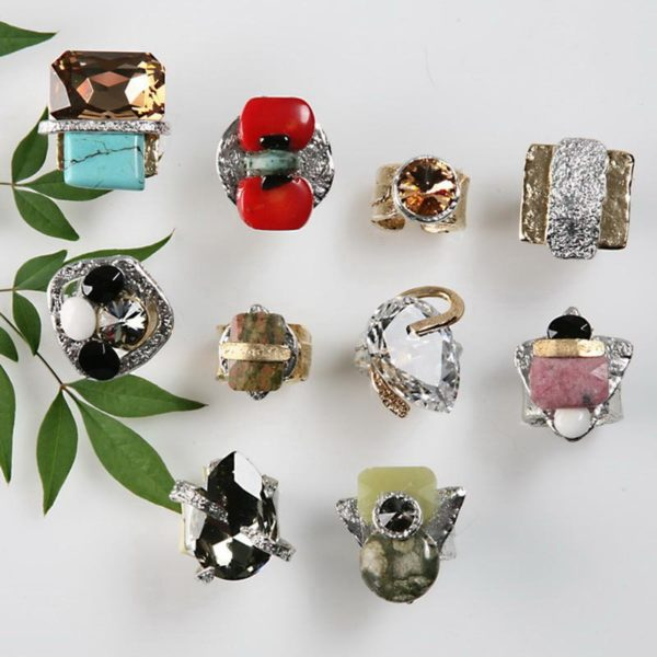 Rings 163 - Top Row - 2nd Left