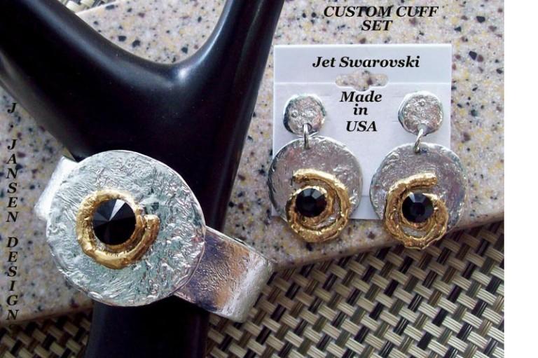 Cuff Bracelet 475 - Earrings