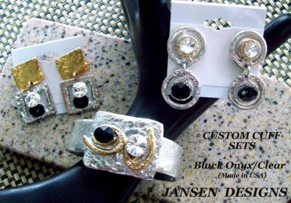Cuff Bracelet 478 - Earrings - Left